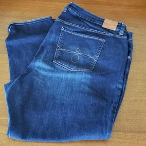Lucky Brand Jeans Ginger Skinny 24w